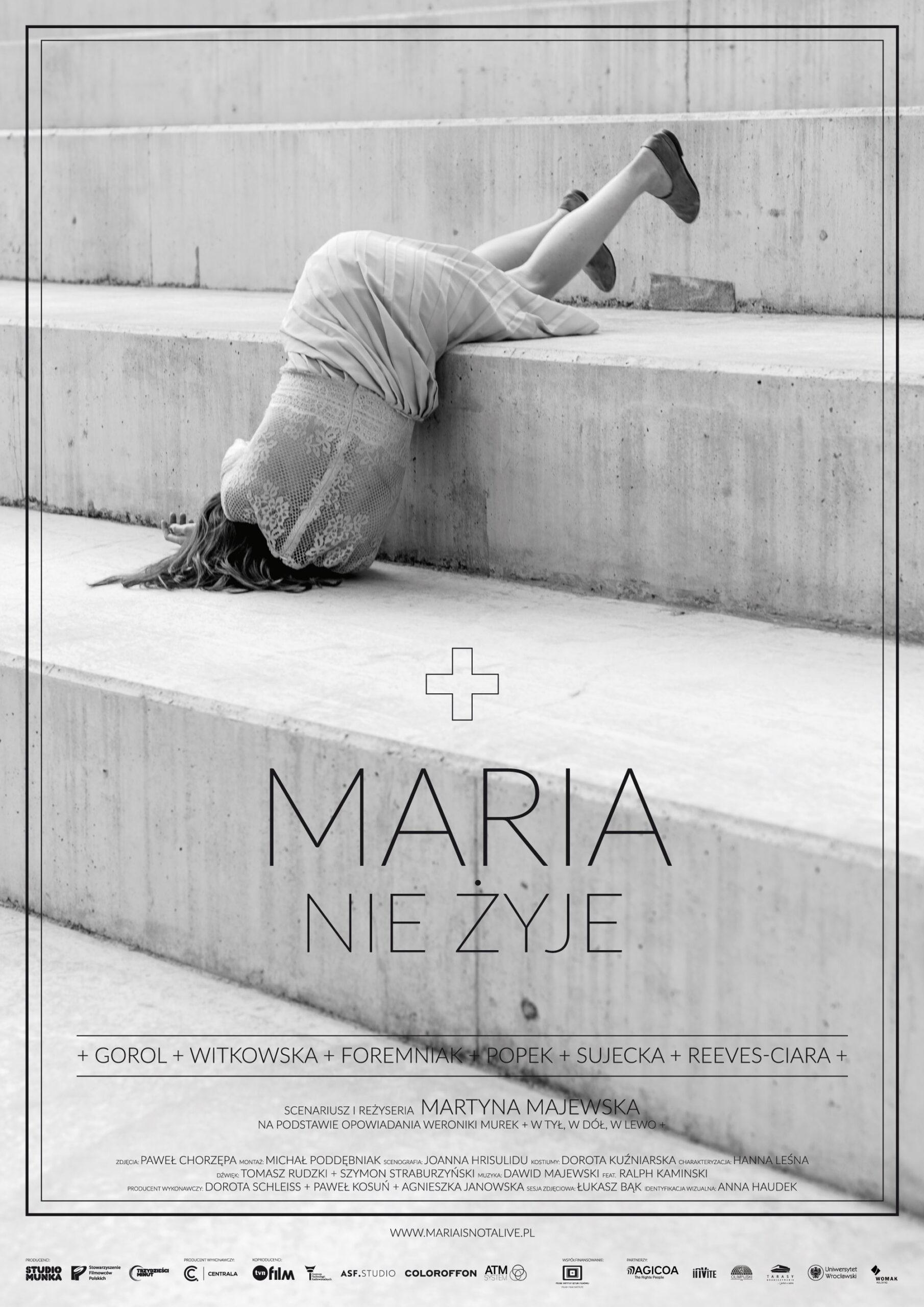 MARIA NIE ŻYJE